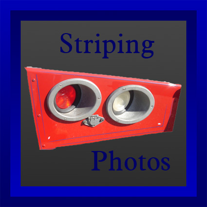 button for striping photos
