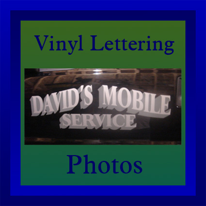 button for vinyl lettering photos